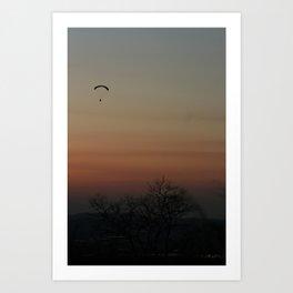 GRADATION OF THE SKY Art Print
