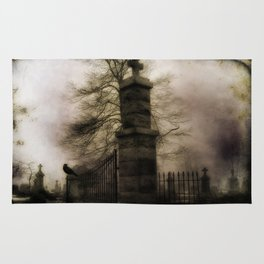 Old Cemetery Gate Rug