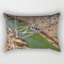 Colorado_River - Marble_Canyon III, AZ Rectangular Pillow