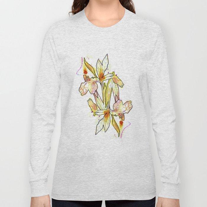 Queen Flower Long Sleeve T-shirt