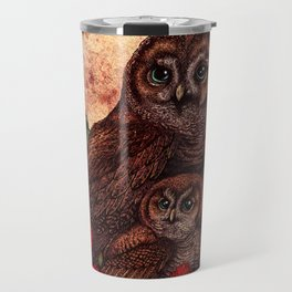 Tawny Owlets Travel Mug