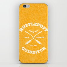Hufflepuff Quidditch iPhone & iPod Skin