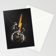 Electric Guitar Storm Stationery Cards