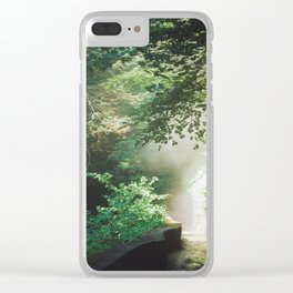 Into The Mist 2 Clear iPhone Case