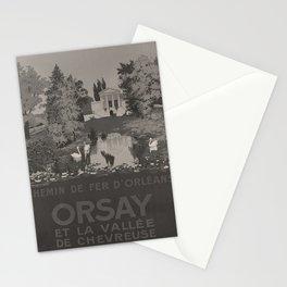 Wanderlust ORLEANS Orsay voyage poster Stationery Cards