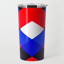 Red, White and Blue - 3 Travel Mug