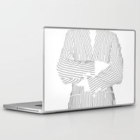 striped Laptop & iPad Skins featuring Striped by Ehud Neuhaus