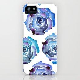 Succulent love iPhone Case