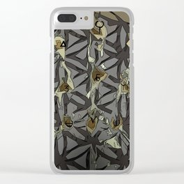 Hand of Man Clear iPhone Case