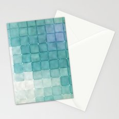 Polaroid Pixels IV (Clouds) Stationery Cards