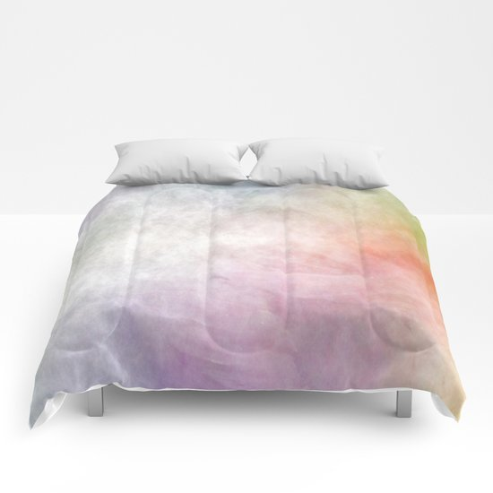 colored clouds 1 Comforters