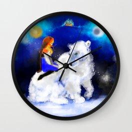 East O the Sun West O the Moon Wall Clock