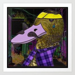 Pato o plomo? Art Print