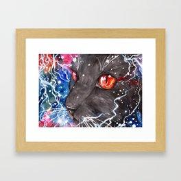 Red Eyes Framed Art Print