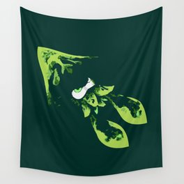 Green Kraken Wall Tapestry