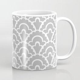 Fan Pattern Gray 115 Coffee Mug