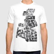 Legends MEDIUM Mens Fitted Tee White