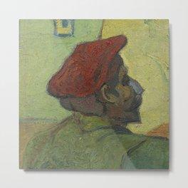 Paul Gauguin (Man in a Red Beret) Metal Print