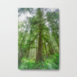 Ethereal Tree Metal Print