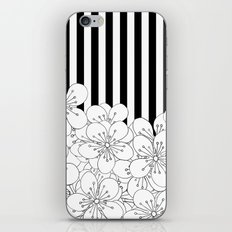 Cherry Blossom Stripes - In Memory of Mackenzie iPhone & iPod Skin