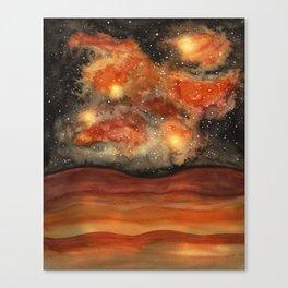 Beautiful Galaxy II Canvas Print