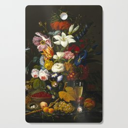 Victorian Bouquet by Severin Roesen Cutting Board