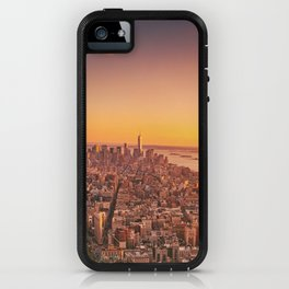 New York City Sunset Skyline iPhone Case