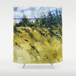 Vent de mer Shower Curtain