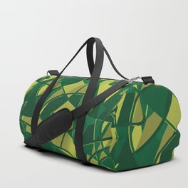 3D Abstract Futuristic Background X. 16 Duffle Bag