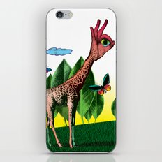 Girafe iPhone & iPod Skin
