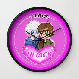 I Love Hijack! Wall Clock