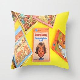 Ramona Quimby Age 8 Throw Pillow