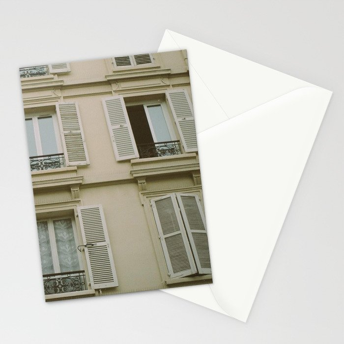 paris view Stationery Cards
