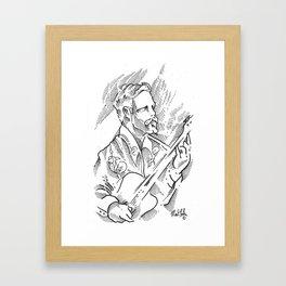 Matt Comer Framed Art Print