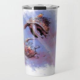 Turtle princess and prince Travel Mug