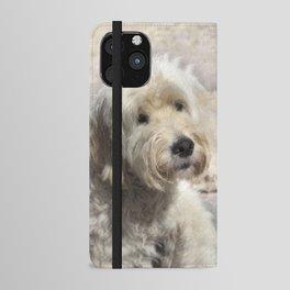 Dog Goldendoodle Golden Doodle iPhone Wallet Case