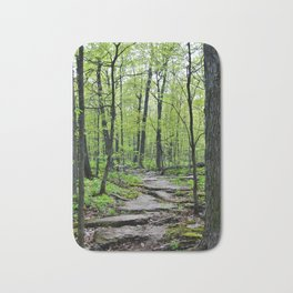 Lead and I will Follow You into the Woods by Reay of Light Bath Mat