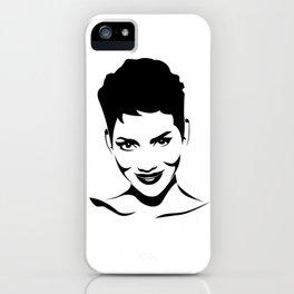 Halle Berry iPhone Case