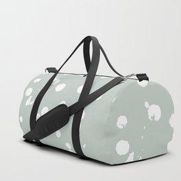 Rainwashed White Spots Duffle Bag