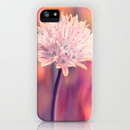 Chive blossom iPhone Case