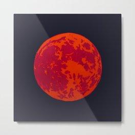 Blood Moon 2 Metal Print