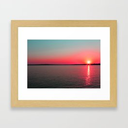 Colorful Sunset_1 Framed Art Print