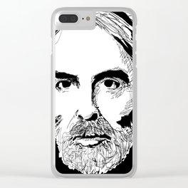 Michael Haneke Clear iPhone Case