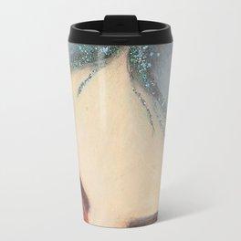 Eyebrows & Glitter Roots on Fleek! Travel Mug