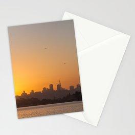 San Francisco Sunrise Stationery Cards