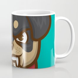 Rottie Pupper Coffee Mug