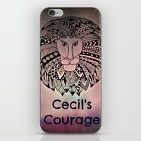 law iPhone & iPod Skins featuring Cecil's Law by MarjolynSpiritArt