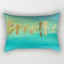 Breathe, Ocean Series 4 Rectangular Pillow