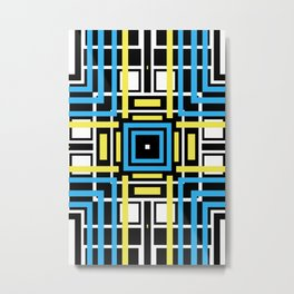 geometric art 2 Metal Print
