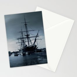 Ship The Warrior HMS 1860 Stationery Cards